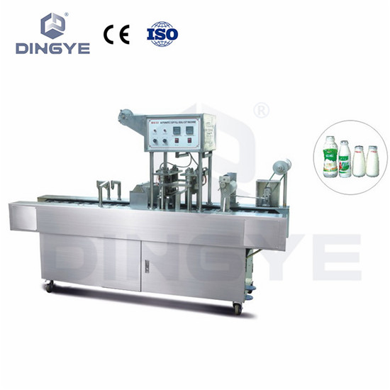 Automatic Milk Bottle Filling And Sealing Machine