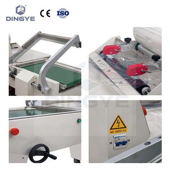DFQC450 Pneumatic L Sealer & BS-A450 shrink tunnel