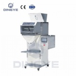 Granule filling machine with weighing system(two weighing)