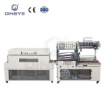 DQL5545G high speed automatic L sealer & DSC4520L shrink tunnel